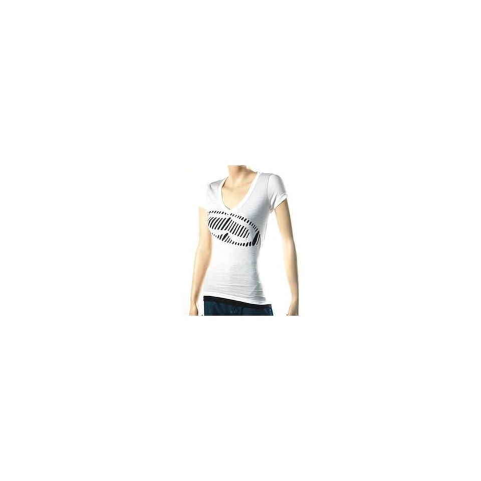 SRH Womens Exposed T Shirt   Medium/White