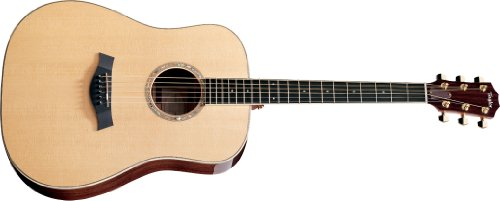 Taylor Dn8E-L Rosewood/Spruce Dreadnought Acoustic Guitar 6-String, Lefty