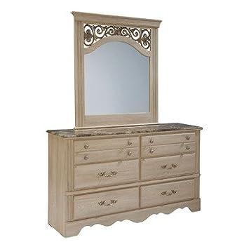 Standard Furniture Torina 6 Drawer Dresser w/ Mirror