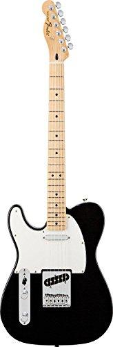 Fender Standard Telecaster LH MN Guitare électrique Noir