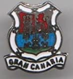 Spain Canary Islands Gran Canaria Flag Pin Badge