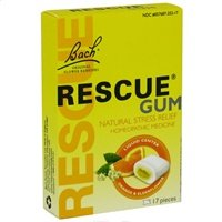 Bach Flower Remedies Rescue Gum Stress Release -- 17 Pieces