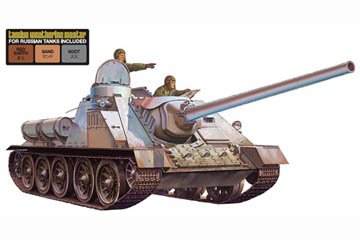 Russian Su100 Tank Destroyer w/Weathering Set 1/35 Tamiya (1 35 Russian Tank compare prices)