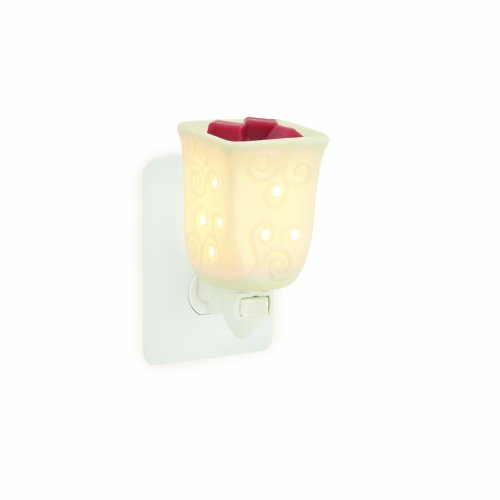 Candle Warmers Etc. Plug-in Fragrance Warmer, Porcelain Square