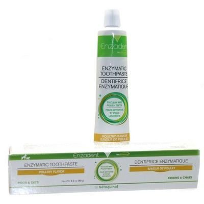 Enzadent Pet Toothpaste: Dogs Poultry Flavor Toothpaste