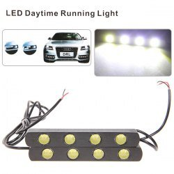 2 X 6W 4-Led High Quality Daytime Running Light As Fog-Proof Light