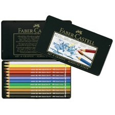 Faber-Castell Albrecht D&uuml;rer Watercolor Pencil Tin - 12 count 117512