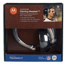 Playstation 2 Motorola Gaming Headset X205