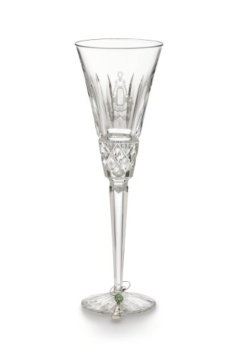 Waterford Crystal 8th Edition 12 Days of Christmas Champagne Flute, Eight Maids-a-Milking
