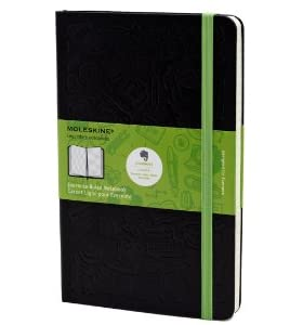 Moleskine Evernote Smart Notebook, Large, Ruled, Black, Hard Cover (5 x 8.25) (Evernote Smart Notebooks)