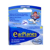 Earplanes Earplanes Earplugs Ear Protection From Flight Air And Noise Sound