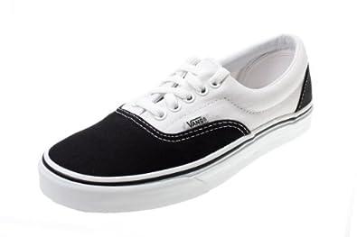 Vans Era White Black