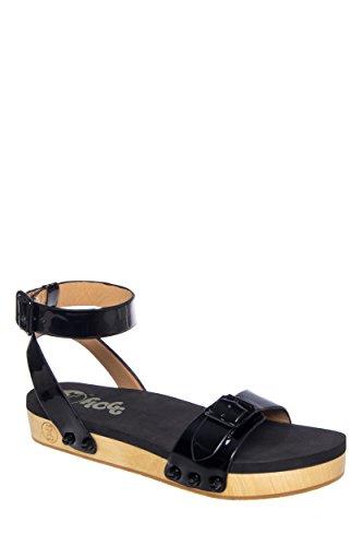Flogg Noelle Low Heel Ankle Strap Platform Sandal