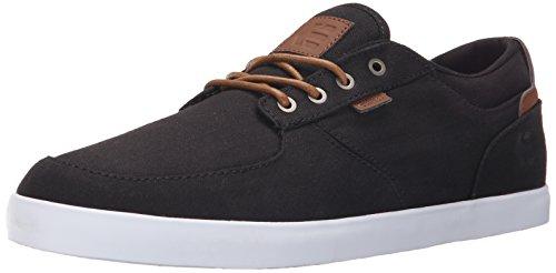 EtniesHITCH - Scarpe da Skateboard uomo , Nero (Black (Black/Brown 590)), 43