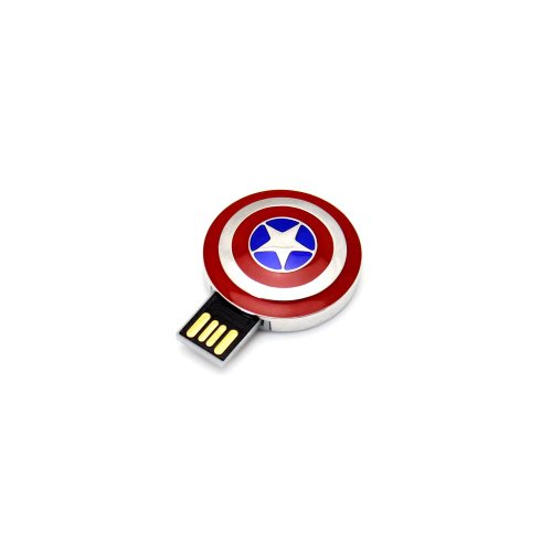 Sale alerts for Acctown Acctown Cool Cartoon Avengers USB 2.0 Captain America memory flash drive 8G - Covvet