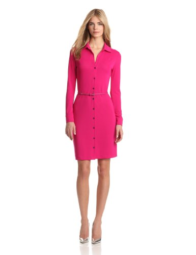Anne Klein Women's Classic Leo Dress, Peony, Large