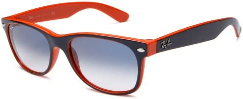 Ray-Ban Unisex RB2132 New Wayfarer Sunglasses 55mm,Multicoloured (789/3F)