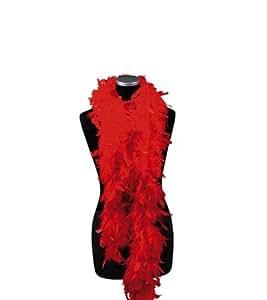 Federboa feder boa elegant rot Feather boas red marabou piuma kostümzubehör
