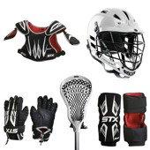 Buy STX Stinger Lacrosse Starter Package - Gloves, Shoulder Pads, Arm Pads, Stick &... by STX