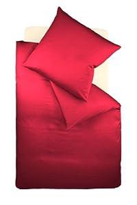 fleuresse G00920045800100 Interlock Jersey Bettwäsche colours Uni 135 x 200 cm bordeaux    Überprüfung und weitere Informationen