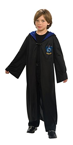 Harry Potter Ravenclaw House Child Robe Dress Costume Cloak (for child 6-8 years)