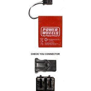 Power Wheels 00801-0712 6 Volt Battery, Type A
