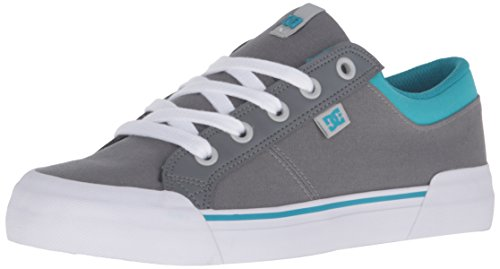 DC Danni Skate Shoe, Grey/Blue, 7 M US