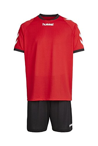 hummel-maillot-dentrainement-sirius-kit-true-red-black-140-152-06-187-3081