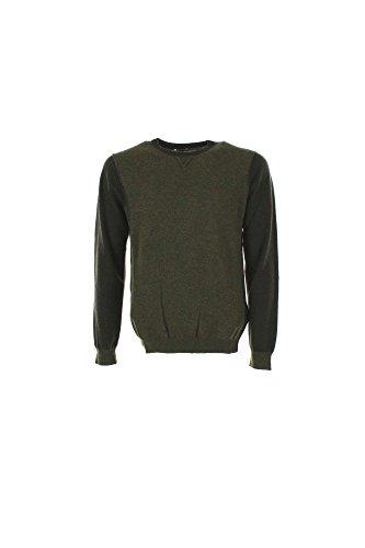 Maglia Uomo Henry Cotton's 90182 01 98101 Verde Autunno/Inverno Verde S