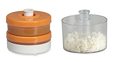 Baby Food Containers Bundle including Baby Brezza Grain Basket and Duo Storage System in Orange by Baby Brezza that we recomend individually.
