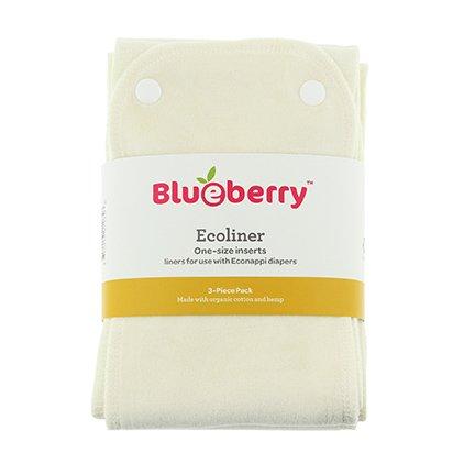 Swaddlebees Ecoliner Organic Cotton Velour & Hemp Insert - 3 Pack