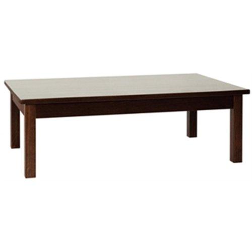 Bolero DL449 Wooden Coffee Table, Walnut