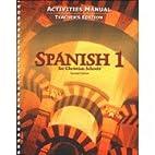 Spanish 1 Activities Manual Teacher's…