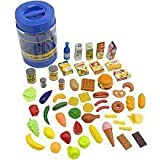 Just Like Home 85-Piece Play Food Set - Blue Bucket - Toys R Us Exclusive