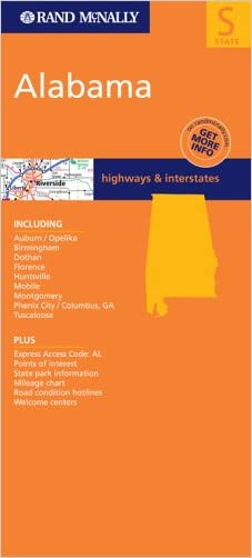 FM Alabama, Al (Rand McNally Folded Map: States)