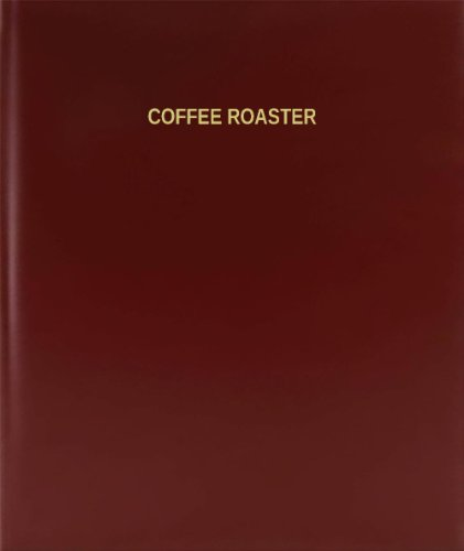"Bookfactory® Coffee Roaster Log Book / Journal / Logbook - 120 Page, 8.5""X11"", Burgundy Hardbound (Xlog-120-7Cs-A-L-Burgundy(Coffee Roaster Log Book))"