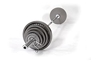210 lb. Olympic Weight Set by USA Sports