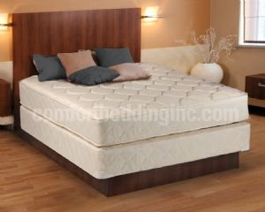 Dreamy Classic Queen Size Mattress And Box Spring Set front-220205