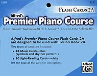Alfred 00-22367 Premier Piano Course- Flash Cards, Level 2A - 1
