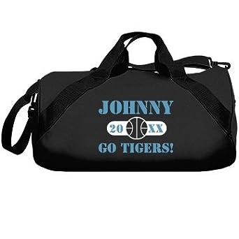 Tigers Basketball Bag: Liberty Bags Barrel Duffel Bag