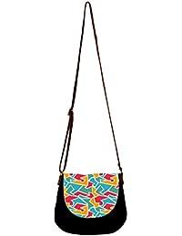 Barisa Epic Multicolor Canvas Cloth Casual Sling Bag - B01ENG2L12