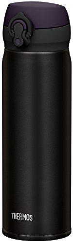 サーモス 水筒 真空断熱ケータイマグ 【ワンタッチオープンタイプ】 0.5L オールブラック JNL-502 ALB