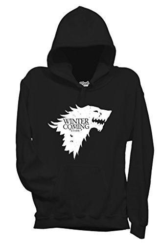 Felpa WINTER IS COMING - GAME OF THRONES - FILM by MUSH Dress Your Style - Donna-S-NERA