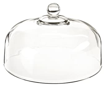 "Anchor Hocking 340Q Glass 11-1/4"" Cake Dome (Case of 4)"