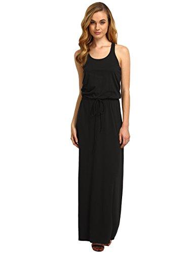 ROMWE Women's Casual Long Tank Sleeveless Racerback Maxi Dress Black S (Tank Maxi Dresses For Women compare prices)