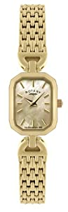 Rotary Ladies Gold tone Dress Watch LB02832-40