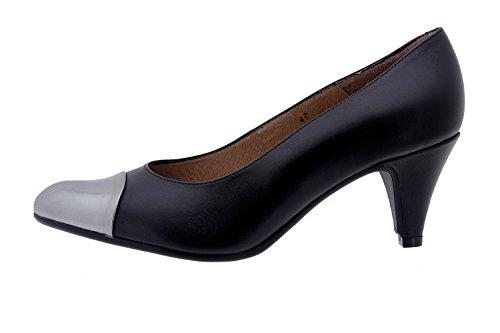 Scarpe donna comfort pelle Piesanto 3238 scarpe di sera comfort larghezza speciale