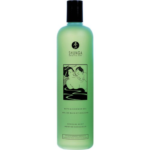 Shunga Mint Bath and Shower Gel Duo Sex Toy Kit