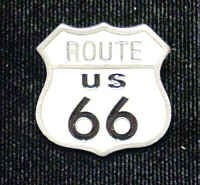 Collector Pin - Route 66