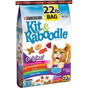 Kit and Kaboodle Original Cat Food, 22 lbs(Pack of 3)